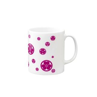 KAMON-Pink- Mugs