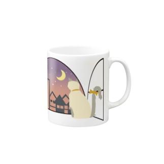 window side [Ragdoll] Mugs