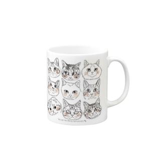 猫猫猫2 Mugs