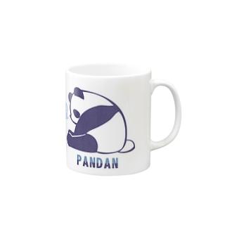 お眠なパンダン Mugs