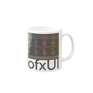 "I LOVE ""ofxUI"" (Black) Mugs"