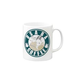 うさばコーヒーカップ Mugs
