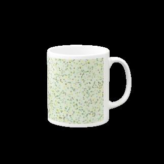 レオナのRandom Paint(Botanical Colors01) Mugs
