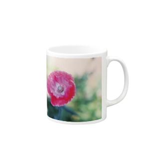 宝石のポピー Mugs