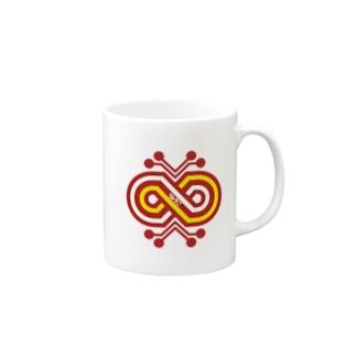 パ紋No.2954 りょうこ Mugs