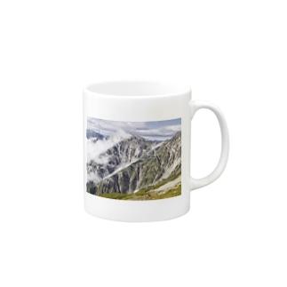 百名山シリーズ(白馬岳) Mugs