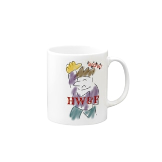 wow☆funny young. HW&F Mugs