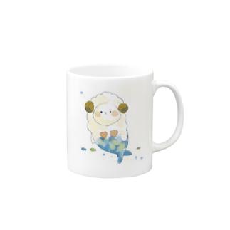 まーめいずー:ひつじさん Mugs