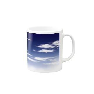 青空(手描き) Mugs