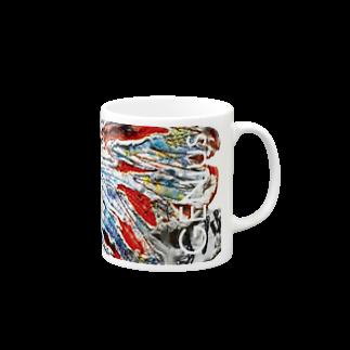 デザイナーズマグカップ ゲニウスストアの【GENius】 インディアンスカル Mugs