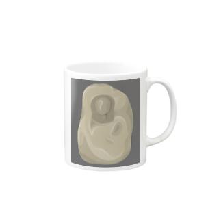 彫刻(偽) version2 Mugs