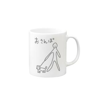 わんことおさんぽ(犬との暮らし) Mugs