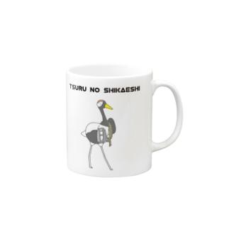 鶴の仕返し Mugs