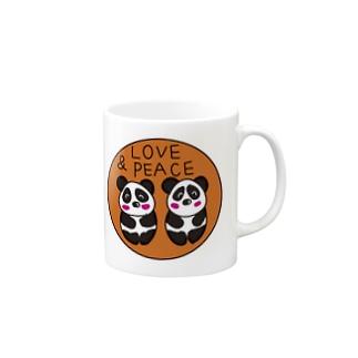 それいゆの双子パンダ誕生記念 Mug