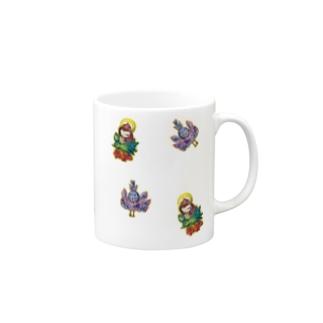 孔雀明王さま❤ランダム Mugs