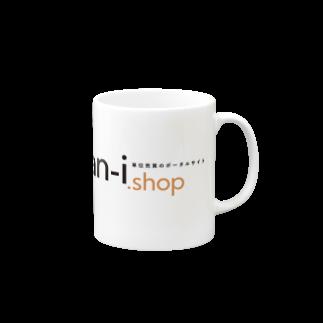 tan-i.shopのtan-i.shop (透過ロゴシリーズ)マグカップ