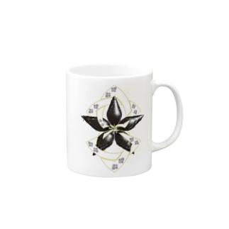 螺旋桔梗 Mug