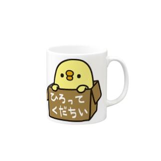 三文堂のひよこ Mugs