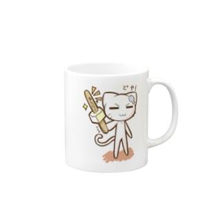 どやネコ!どやちゃん(アイス)02 Mugs