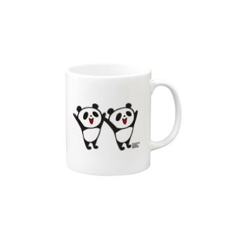 フタゴパンダさん Mug