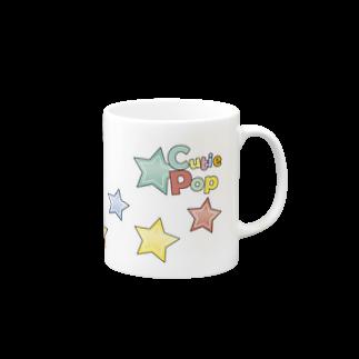 キューティ★ポップのキューティ★ポップ キラキラバージョン マグカップ