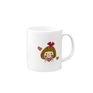 ハートリボンちゃん マグカップ