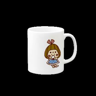 かょのこ♪のおにぎりマグカップ
