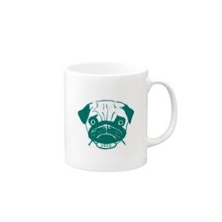 グリーンパグ3040グッズ Mugs