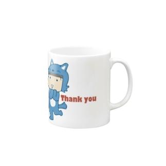 ありがとうむっちゃん マグカップ