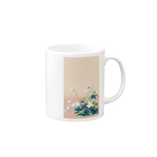 二輪草 Mugs