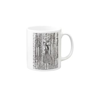 森と少女 Mugs
