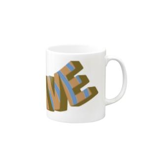 ライドザウェーブ ヴィンテージ風 Mugs