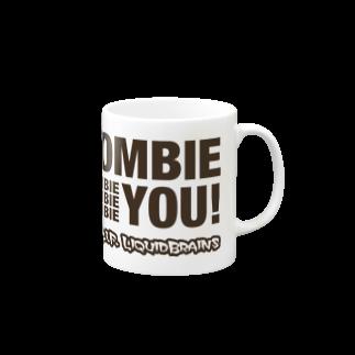 KohsukeのZombie You! (black print) マグカップ