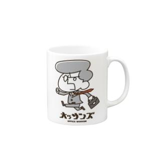 オッサンズ サラリーマン編 カラーVer. Mugs