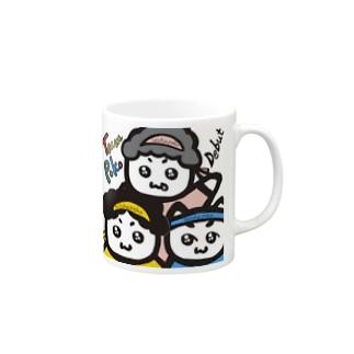 ちーむ☆ぽこ Mugs