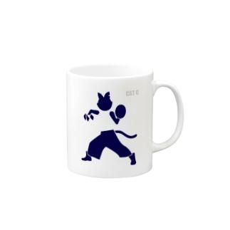 ピクトグラムキャットC Mug