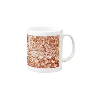 キラキラマグ001レッド Mugs