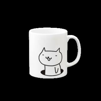 フロシキの穴ネコ Mugs