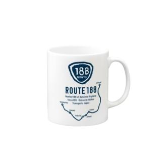 ROUTE188 Mugs