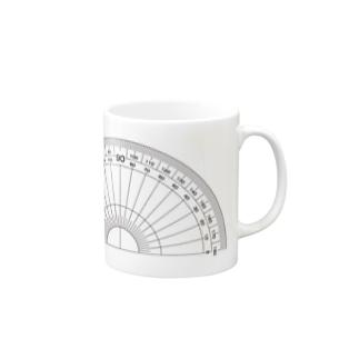 分度器 Mugs