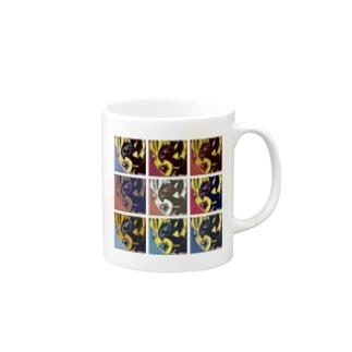 """覆面MANIAの覆面MANIA """"ANIVERSARIO 10"""" Mug"""