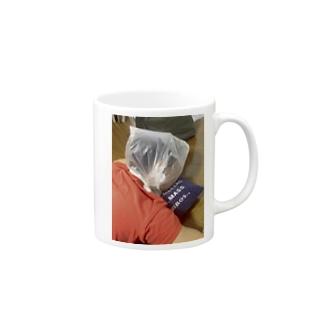不意打ち Mugs