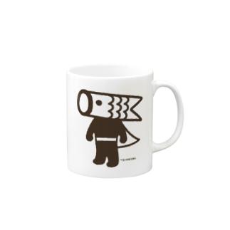 こいのぼりマン Mugs