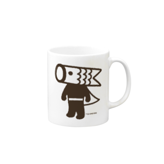 こいのぼりマン@加須市のこいのぼりマン Mugs