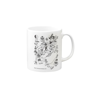 sweets town Mugs