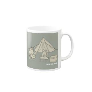 ヤタ&ナギ(キャンプ) Mugs