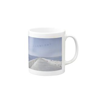 夏のコンプレックスを海に沈めて Mugs