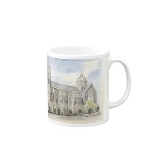 ベトナムの教会 マグカップ