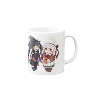 SEOのホワイトハットジャパンの白野おぷちと黒木凛紅からのプレゼント Mugs