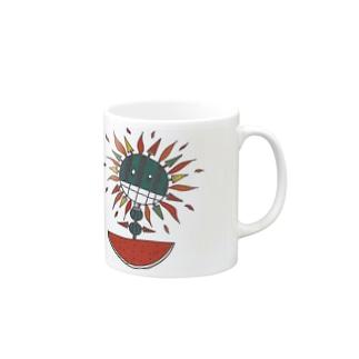 西瓜&太陽 Mugs